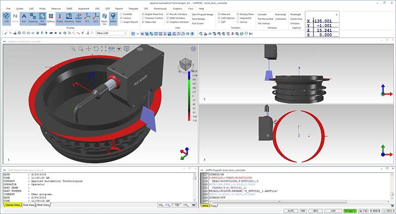 CappsNC 8 for On-machine metrology