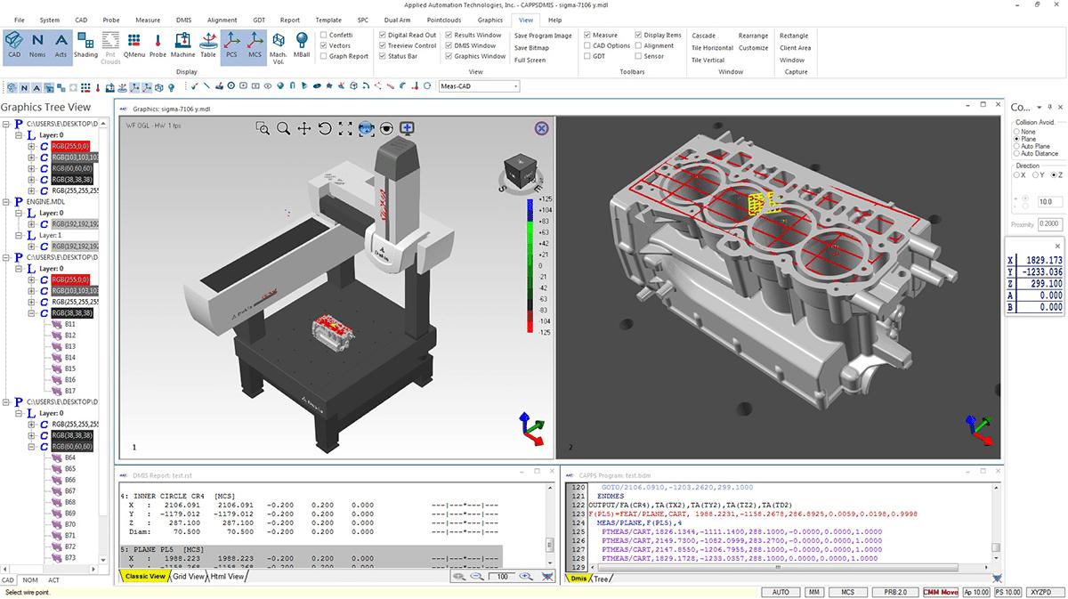 AAT CappsDMIS CMM Metrology SOftware