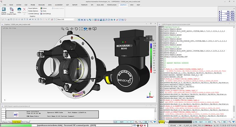 AAT CappsDMIS CMM software
