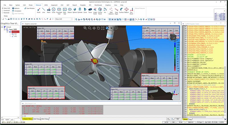 CappsNC on-0machine metrology