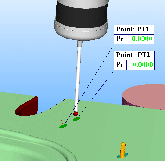 interactive surface inspection