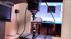 CappsNC On-machine laser scan