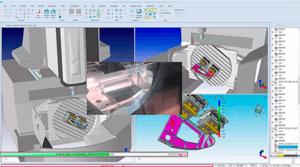 CappsNC on-machine measurement on a DMG Mori DMU95 machining center