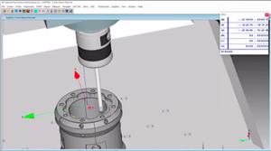 CappsNC on-machine measurement with spindle indexing