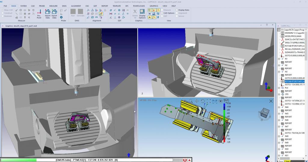 CappsNC On-Machine Probing with DMG MORI DMU 95