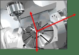 On-machine probing pre-process setup