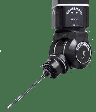 Renishaw Revo 5-axis prober head and CappsDMIS