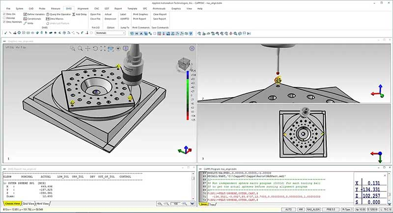 CappsNC & CappsDMIS New & improved CAD Engine