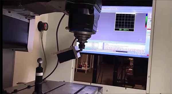 4 Axis laser scan video still
