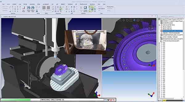 DMU50 Probing a blisk Video Still