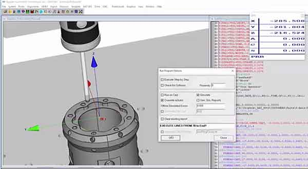 Kinematic Probe Indexing Video Still