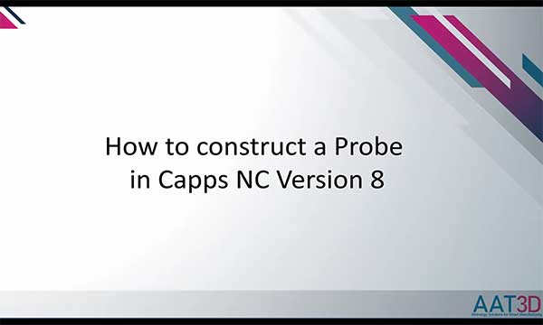 Building a New Probe in Capps Software