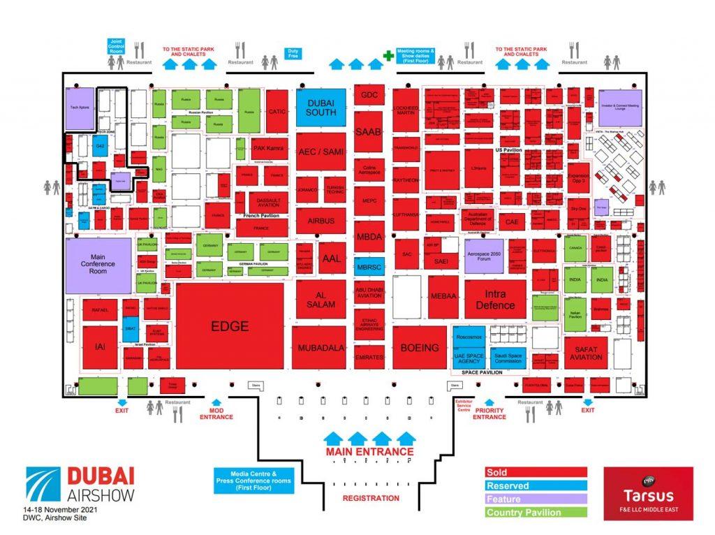 Dubai Airshow Floorplan