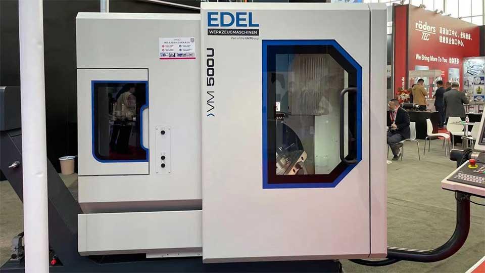 Edel Werkzeugmaschinen at CIMT 2021