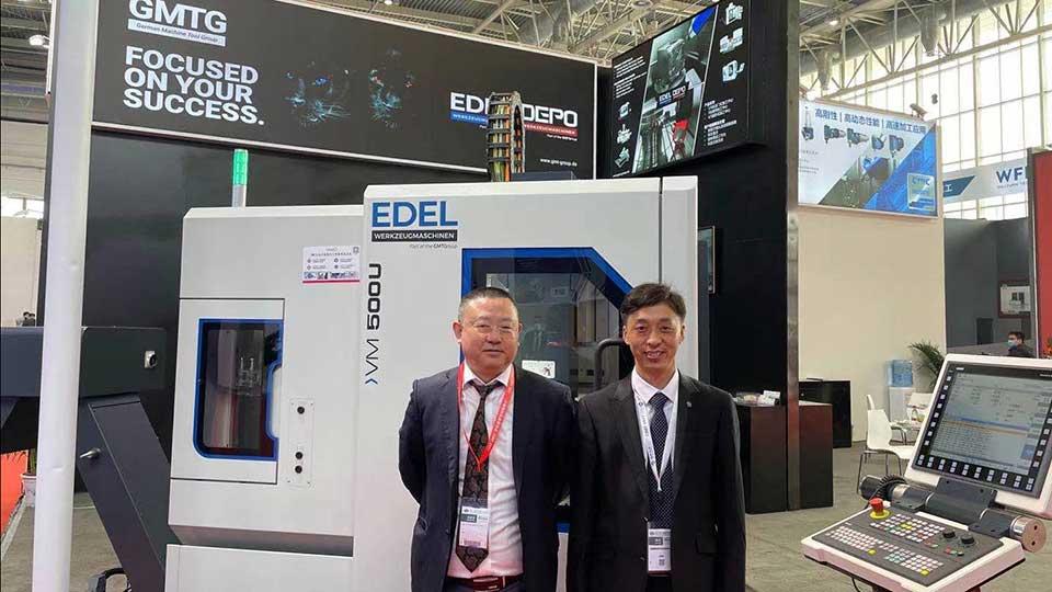 Edel Werkzeugmaschinen and AAT3D China at CIMT 2021