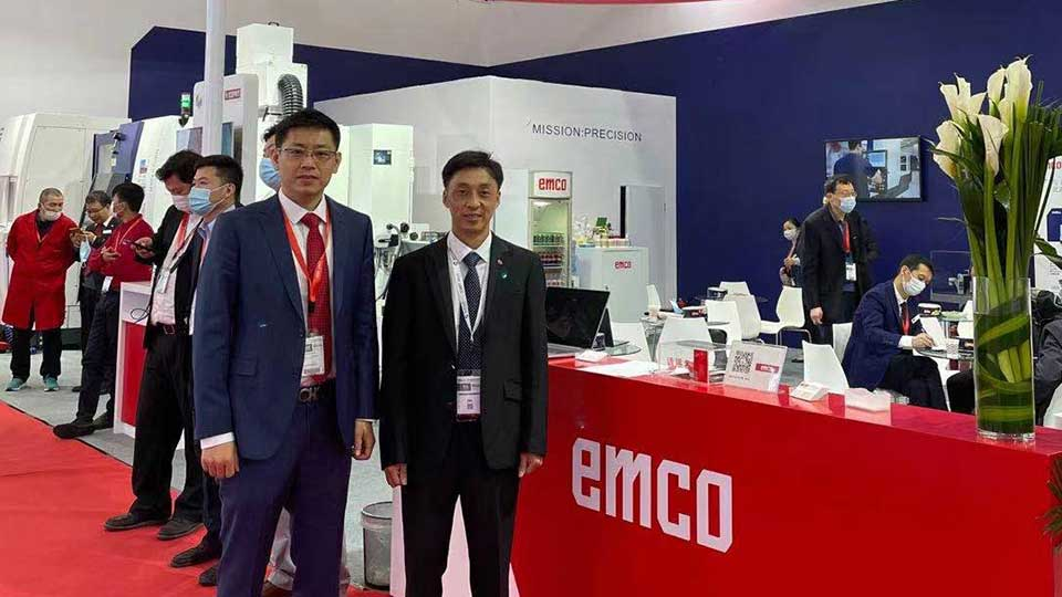 Emco and AAT3D China at CIMT 2021