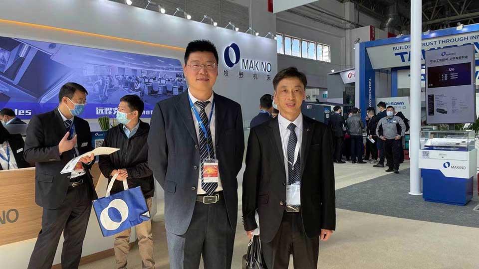 Makino and AAT3D China at CIMT 2021