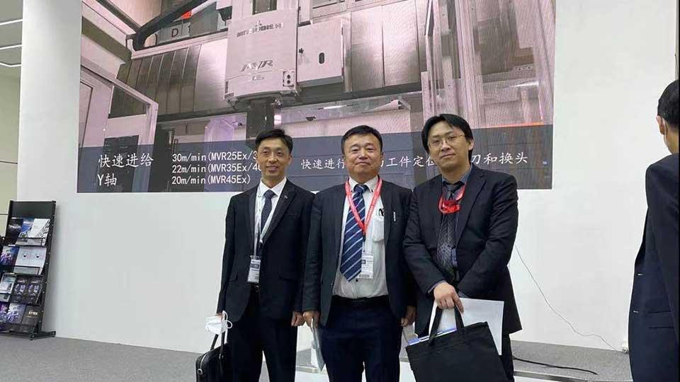 Mitsui Seiki and AAT3D China at CIMT 2021