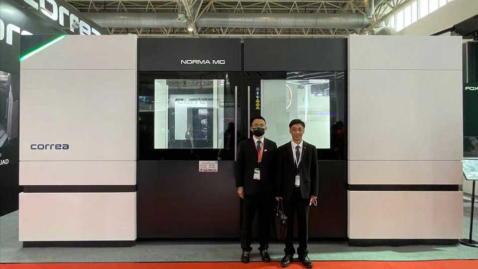 Nicolas Correa and AAT3D China at CIMT 2021