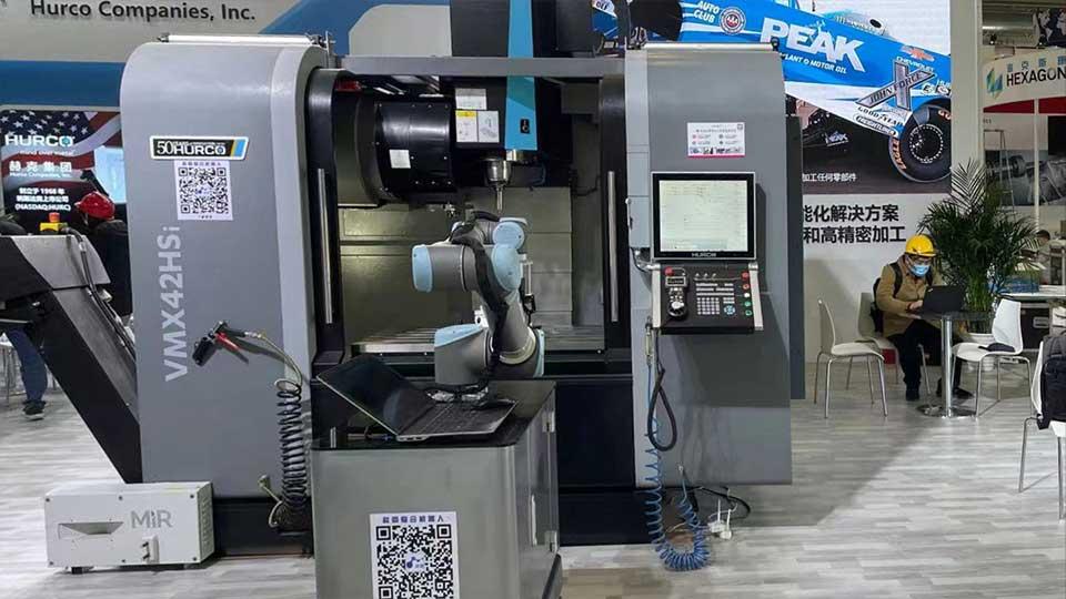 Hurco CNC and AAT3D China at CIMT 2021